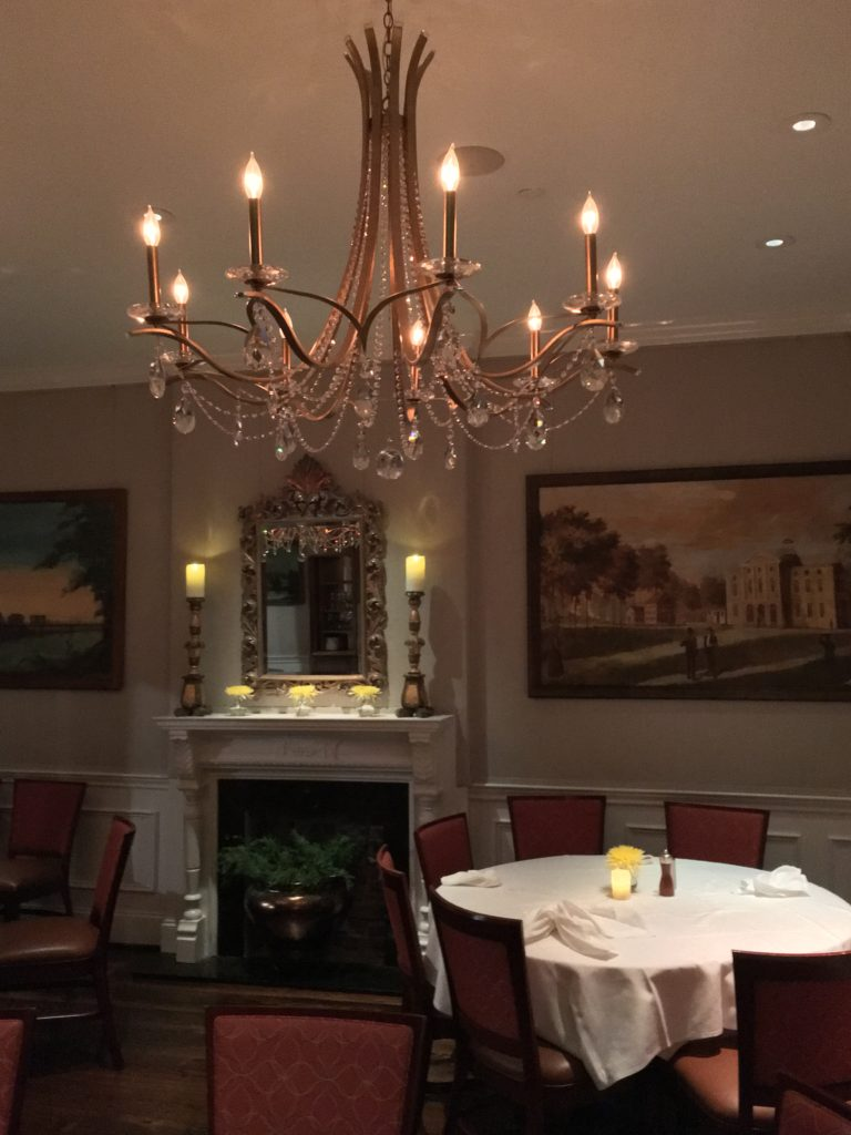 Dining room at High Cotton