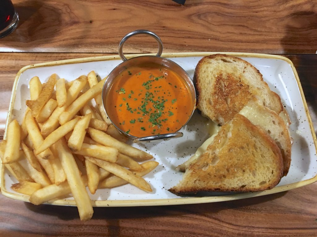 Foggy Brews Grilled Cheese